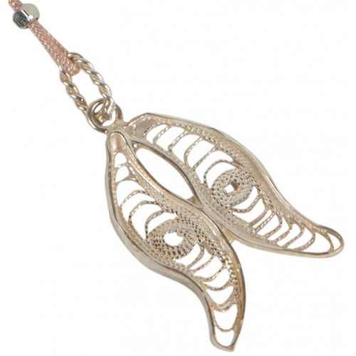 Filigree Inverted Tulip Pendant