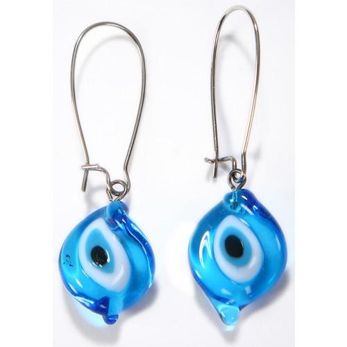 Glass Amulet Earrings