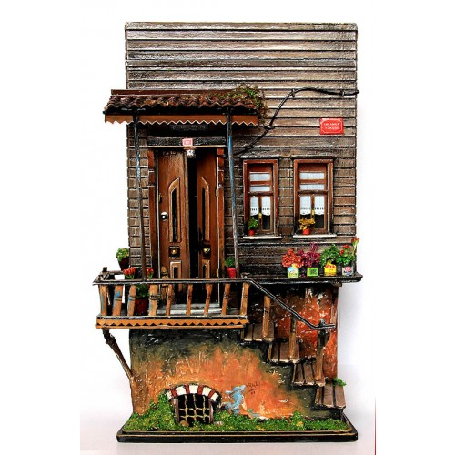 Miniature Historical Ottoman House on Ihlamur Hill Istanbul