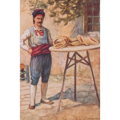 Warvick Goble Bagel Seller in İstanbul Helioprint