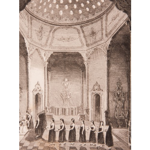 Sultan's Bath Engraving