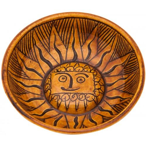 Byzantine Helios Ceramic Bowl
