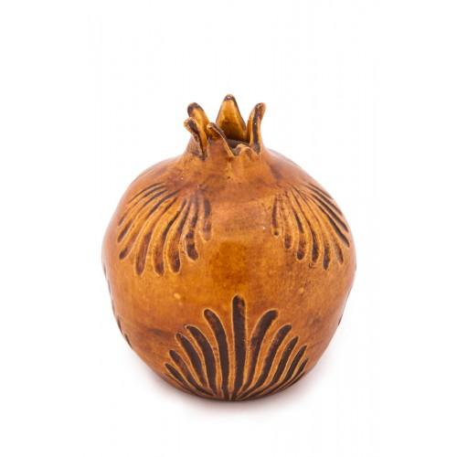 Pomegranate with Sgrafitto Technique -2