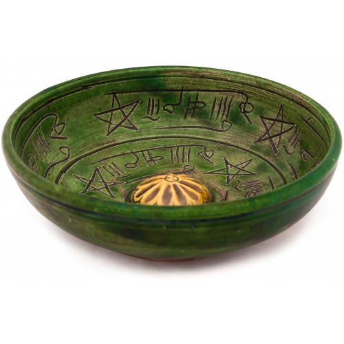 Rufai Healing Bowl - Yellow in the Middle