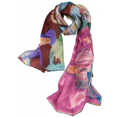 Whirling Dervish Silk Scarf
