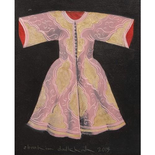 Acrylic Caftan - Pink