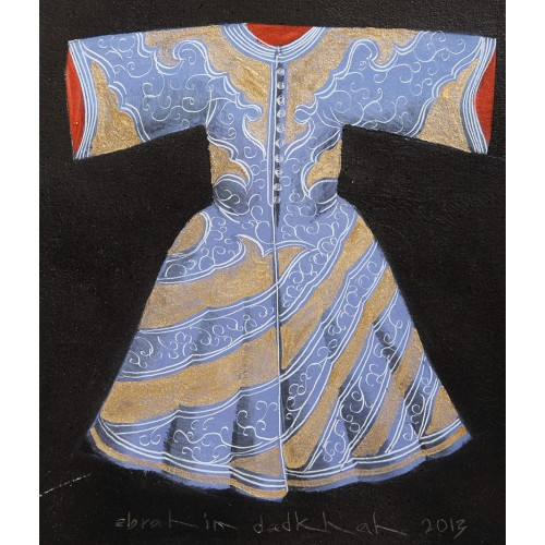 Acrylic Caftan - Blue