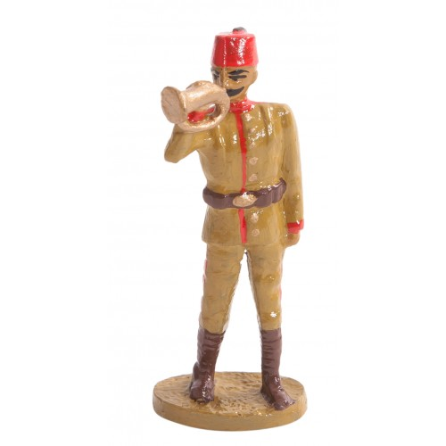 Ottoman Infantry Trumpeter Toy Soldier Figure