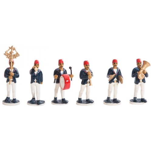 Toy Soldier Set of Ottoman Navy Band Team