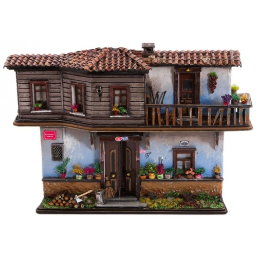 Miniature Authentic Ottoman House