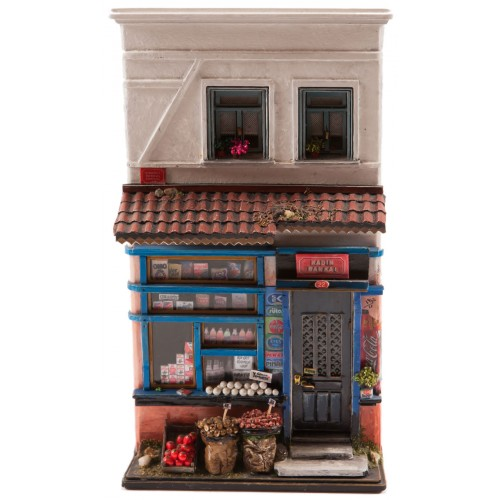 Miniature Historical Convenient Store from the Ottoman Era