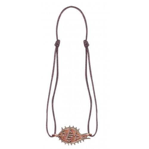 Bedri Rahmi Fish Wristband - Bronze