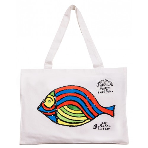 Bedri Rahmi Sole Fish Tote Bag