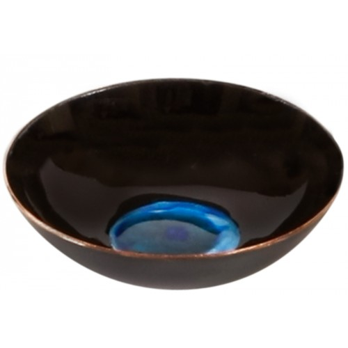 Black Enamel Plate - 2