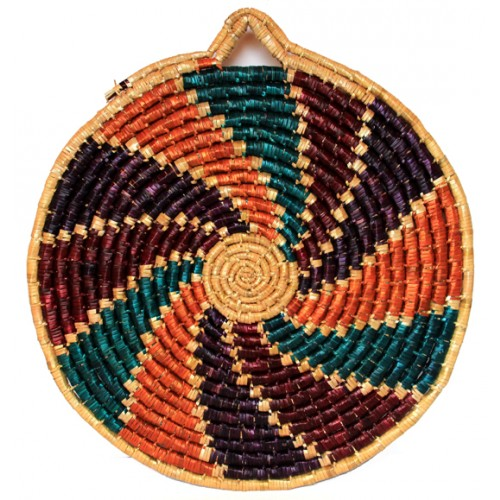 Basket Wall Decor - Spiral