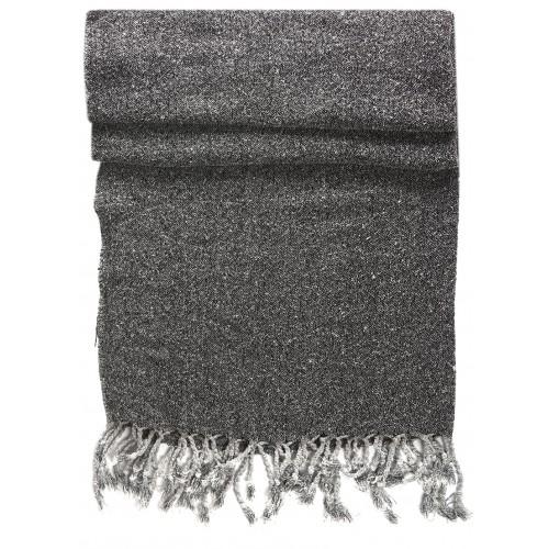 Dark Grey Kirmen Silk Wrap
