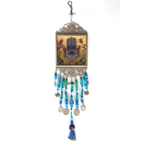 Hamsa (Fatima's Hand) Wall Hanging
