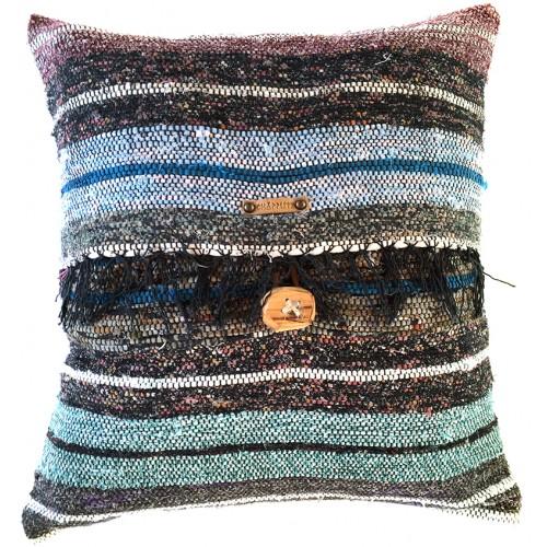 Rag Rug Pillow Case - 9
