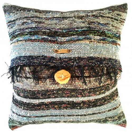 Rag Rug Pillow Case - 8