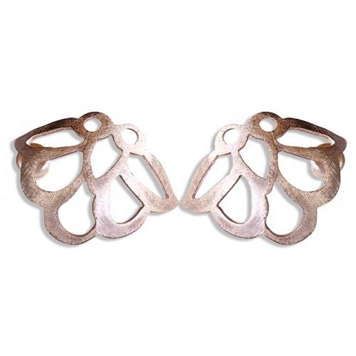 Iznik Silver Stud Earrings