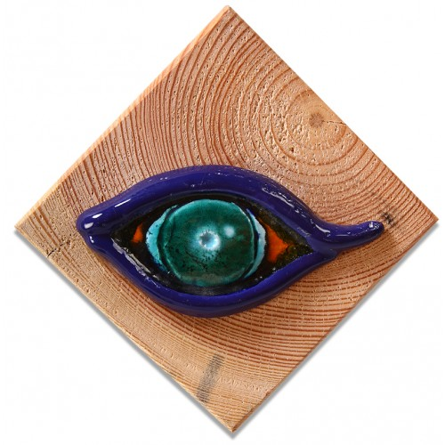 Evil Eye Ceramic Tablet - 3