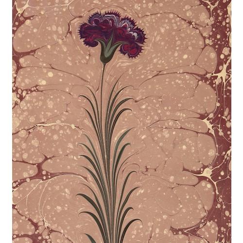 Clove Marbling Art on Paper