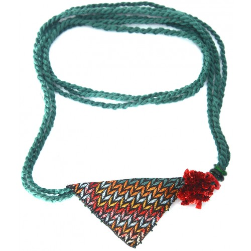 Muska Necklace - Green