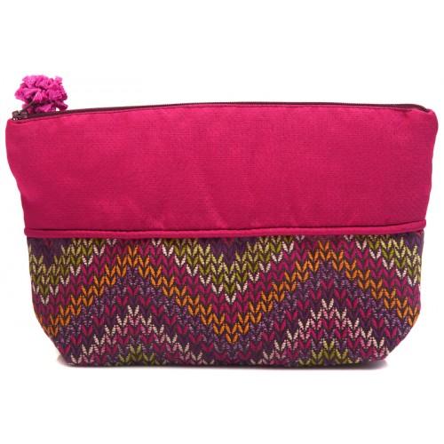 Fuchsia Cosmetic Bag