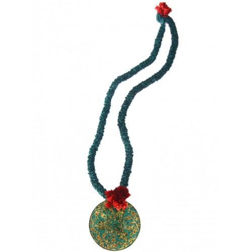 Ottoman Tile Medallion Necklace