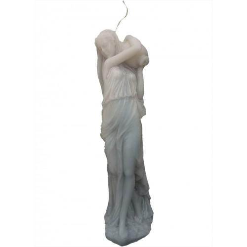 Roman Lady Sculpture Candle