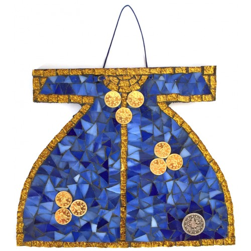 Mosaic Ottoman Kaftan Blue