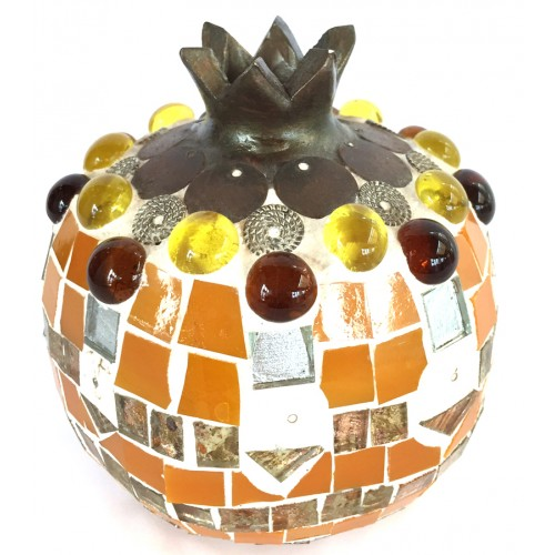 Mosaic Pomegranate Orange