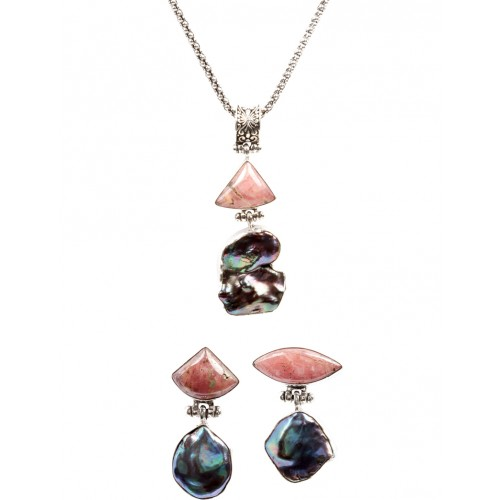 Mystic Necklace and Earring Set