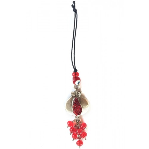Pomegranate Red Charm - 1