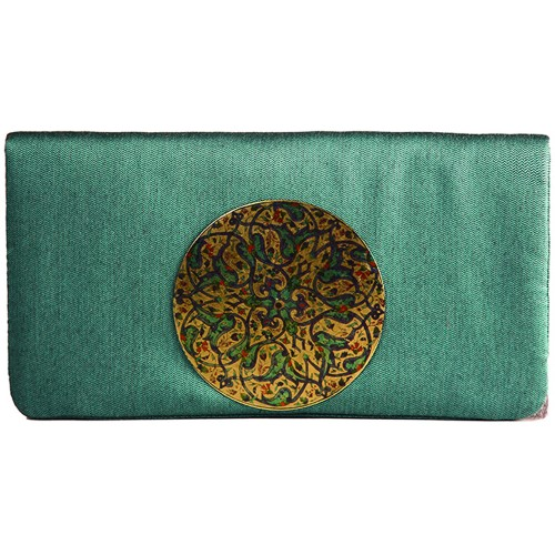 Turquoise Ottoman Clutch Bag