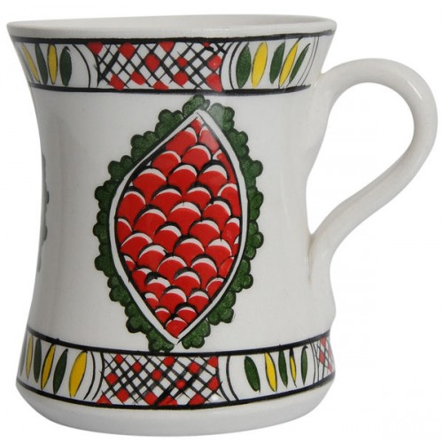 Rumi Coffee Mug with Sems Patterns