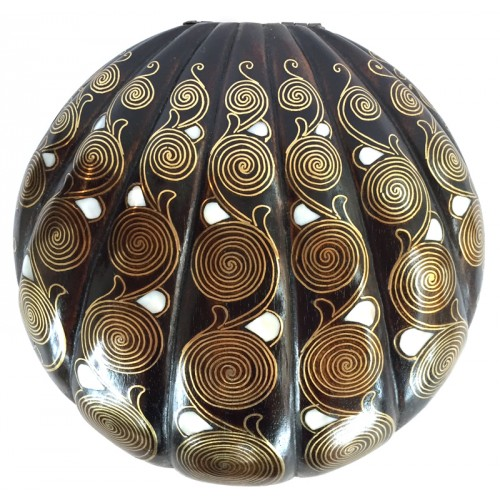 Mother of Pearl Inlayed Jewellery Box Filigree
