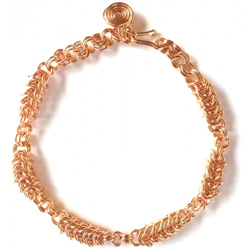 Box Chain Copper Bracelet