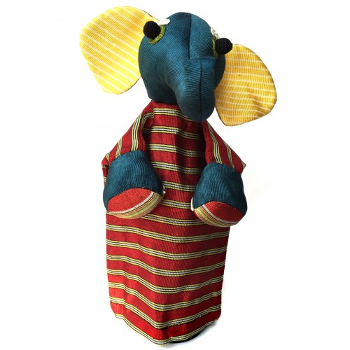 Elephant Puppet - Red