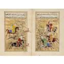 Hunting Scene Ottoman Miniature