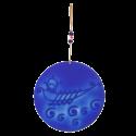Glass Galley Cobalt Blue Wall Decoration