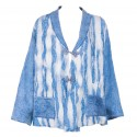 Blue Felt Jacket