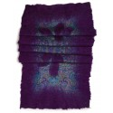 Felt Shawl - Purple