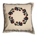 "Elvan Print Pillow Slip with ""Dramanin Gobegi"" Pattern"