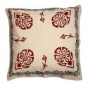 Pillow Slip with Red Ottoman Clove