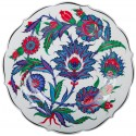 Nicea Porcelain Plate - 1545-50 Period Replica