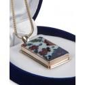 Red İznik (Nicea) Quartz Silver Necklace