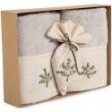 Towel Set - Flower Ornamented