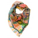 Istanbul Square Silk Scarf