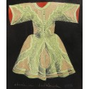 Acrylic Caftan - Green